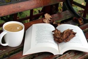Jesień i czytanie książki