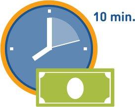 Pożyczka udzielona nawet w 10 minut.