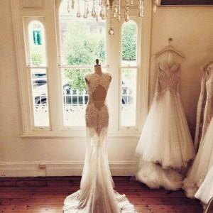 Wymarzona suknia ślubna.