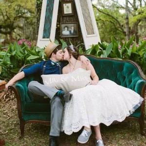 Super pomysł na zdjęcie ślubne :)