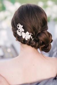 fryzura weselna