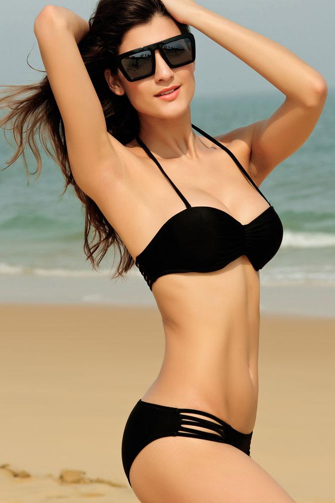 moda na plaży