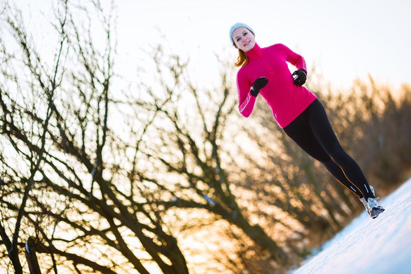 ćwiczenia zimą