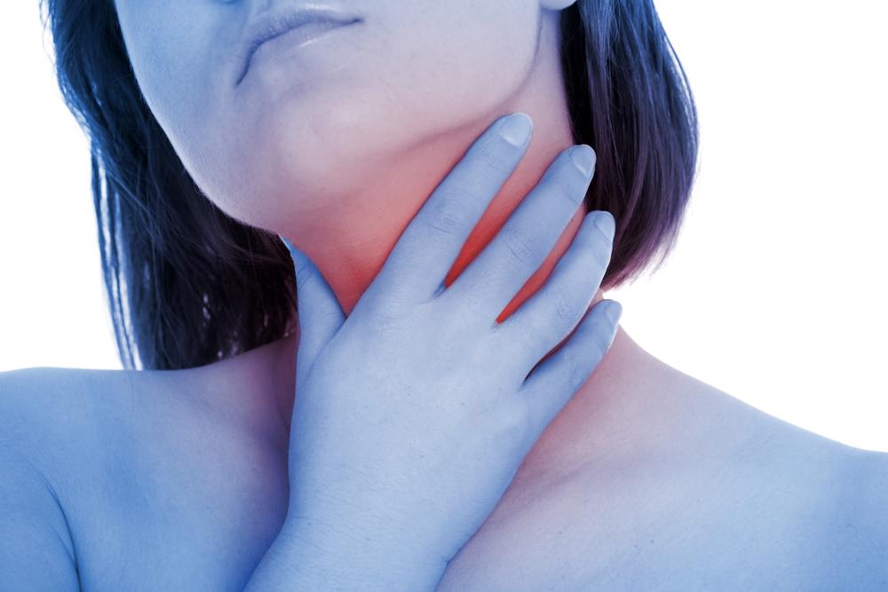 na ból gardła