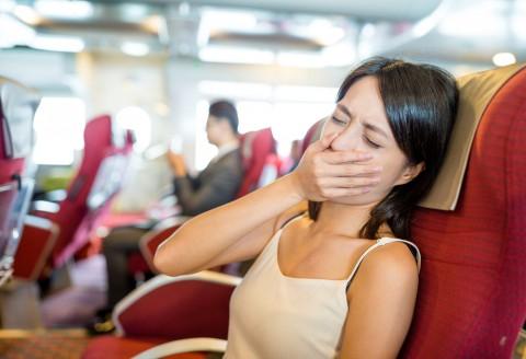 choroba lokomocyjna w samolocie