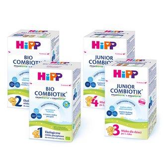 mleko modyfikowane HiPP
